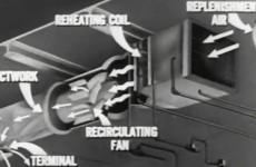 Shipboard Heating, Ventilation & Mechanical Cooling 1952 US Navy Training Film MN 6941