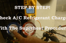 superheat step by step 2